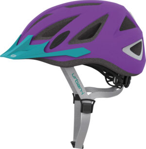 Abus Urban-I v.2 Neon, purple (52-58cm)