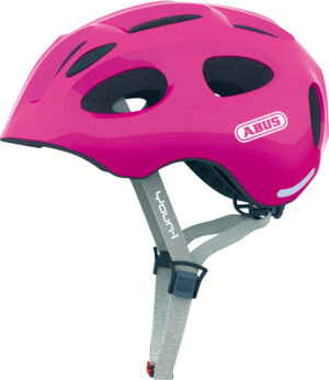 Cykelhjelm Abus Youn-I - Sparkling Pink