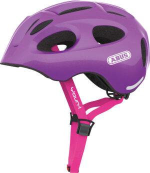 Cykelhjelm Abus Youn-I - Sparkling Purple