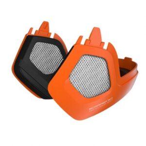 Abus Ørevarmere til Scraper 3.0 Ace og Era, Signal Orange