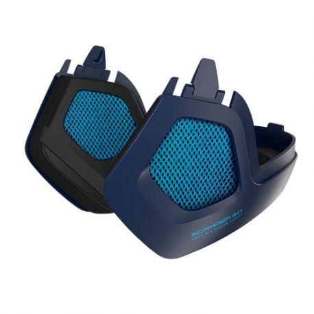 Abus Ørevarmere til Scraper 3.0 Ace og Era, ultra blue