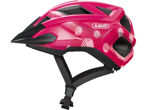 Abus MountZ - Cykelhjelm - Fuchsia Pink - Str. S