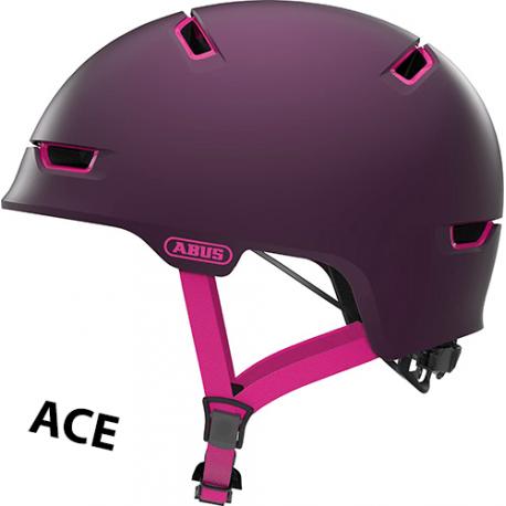 Abus Scraper 3.0 ACE cykelhjelm, lilla
