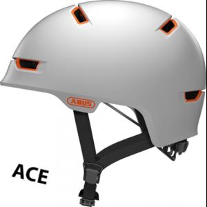 Abus Scraper 3.0 ACE cykelhjelm, polar mat