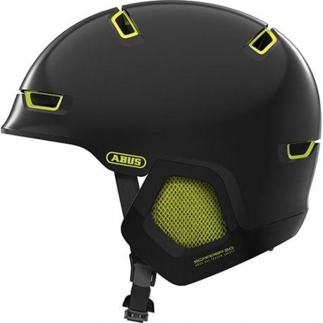Abus Scraper ERA 3.0 cykelhjelm, sort/grøn