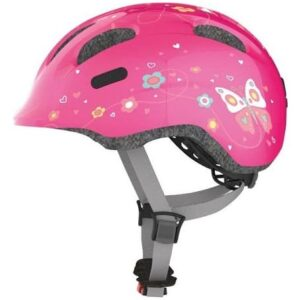 Abus Smiley 2.0 Pink Butterfly børnehjelm