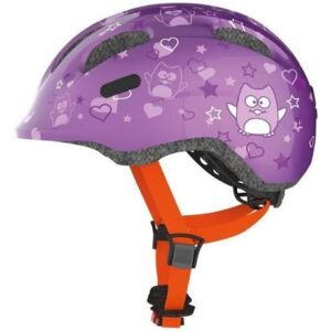 Abus Smiley 2.0 Purple Star børnehjelm