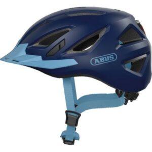 Abus Urban-I 3.0 Core Blue cykelhjelm m. LED-baglygte