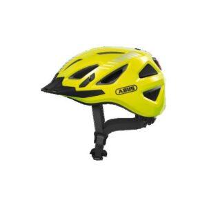 Abus Urban-I 3.0 Signal yellow cykelhjelm m. LED-baglygte