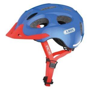 Sparkling blue Youn-I Ace cykelhjelm fra Abus