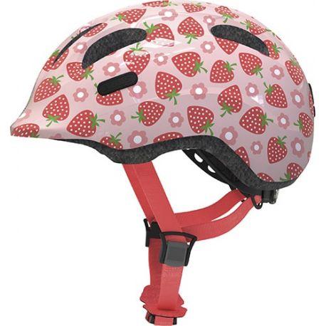 Rose strawberry Smiley 2.1 børnehjelm fra Abus