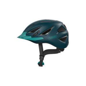 Abus Urban-I 3.0 core green - cykelhjelm m. LED-baglygte